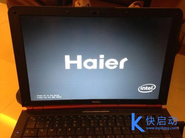 海尔笔记本电脑如何装系统
