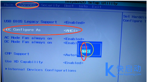 U盘安装Win7电脑系统出现蓝屏操作方法