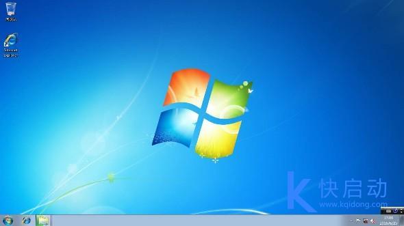 原版win7系统桌面