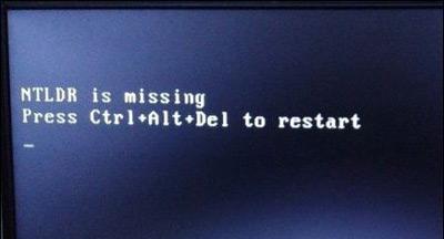 Win10电脑开机黑屏提示NTLDR is missing的解决方法