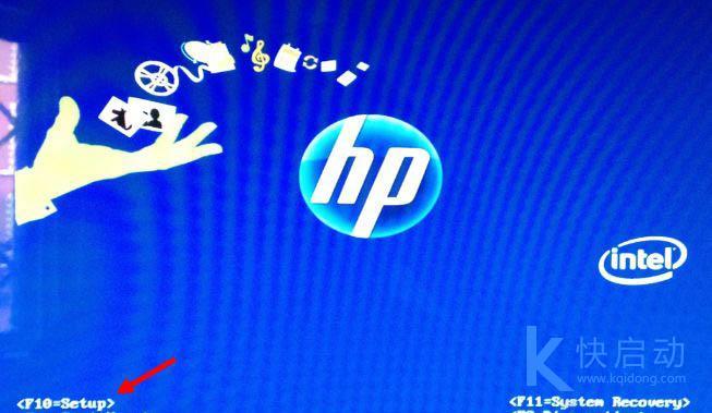 惠普笔记本电脑进入bios按什么键