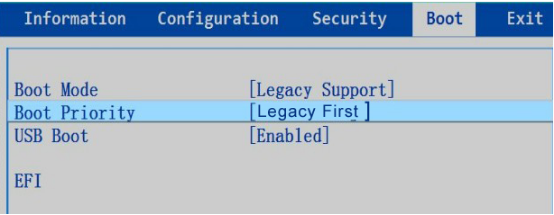 Legacy First