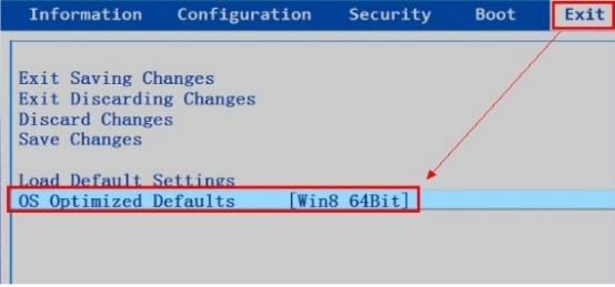 OS Optimized Defaults