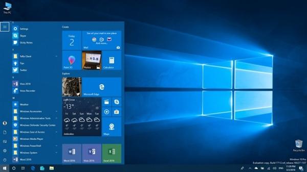 Windows 10 RS4新版17112发布