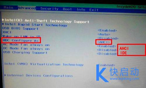 各品牌电脑PE中找不到硬盘的解决方法
