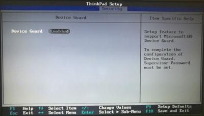 联想ThinkPad T470s电脑无法修改安全启动和启动项的解决方法